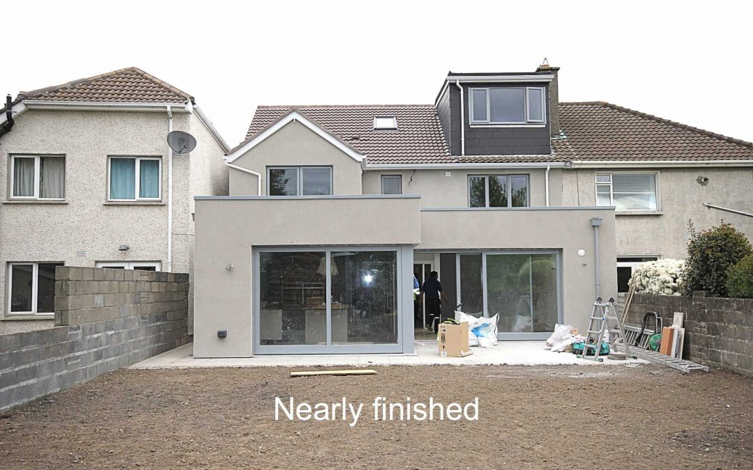 Clonskeagh Large Extension & Full Renovation